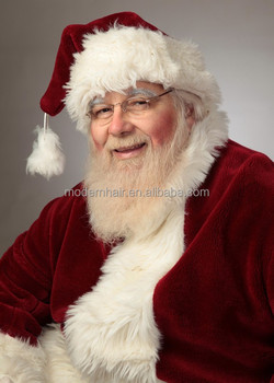 Professional Santa Beard and Santa Wig Set with handtie moustach and  eyebrows 84bb1f0eb