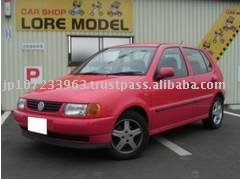 Used Volkswagen POLO Compact RHD second hand car 96,000km