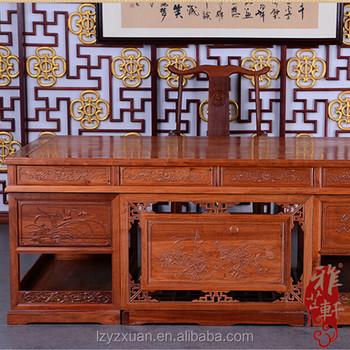 Mahagoni holz möbel  Moderne Stil Seltene Und Wertvolle Mahagoni Holz Möbel Chef Und ...