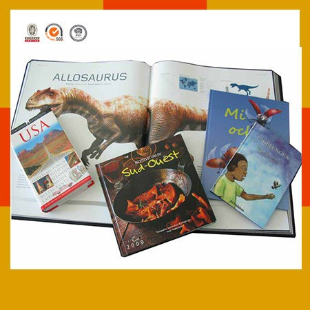 Customizing full color offset book printing service