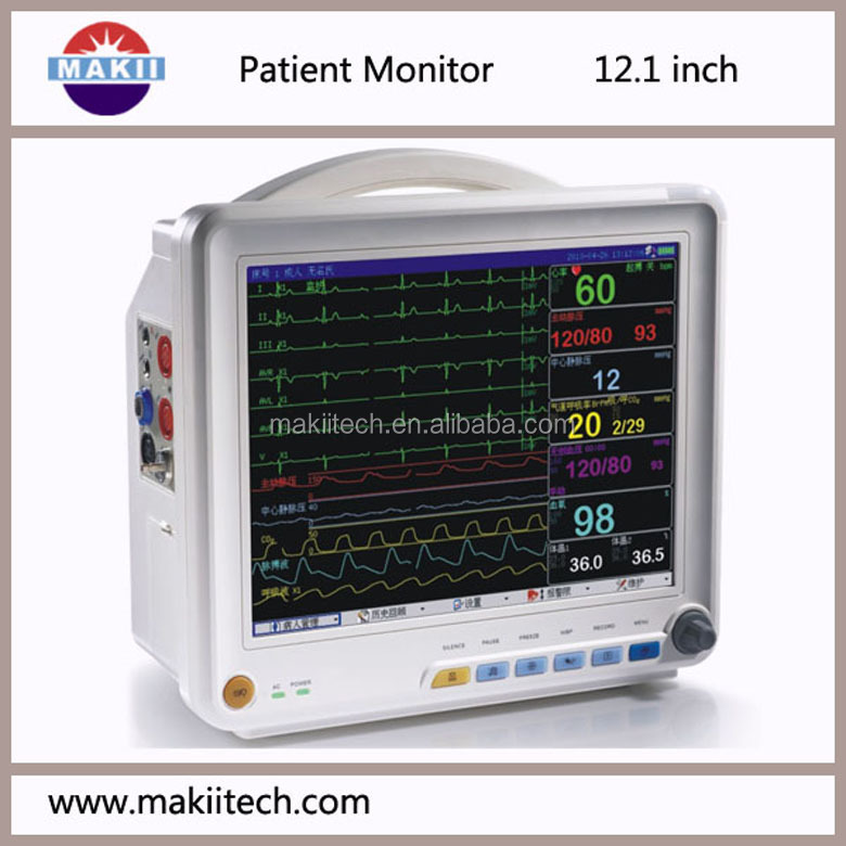 Cardiovascular Monitoring System : Portable diagnosis inch cardiac monitor type buy