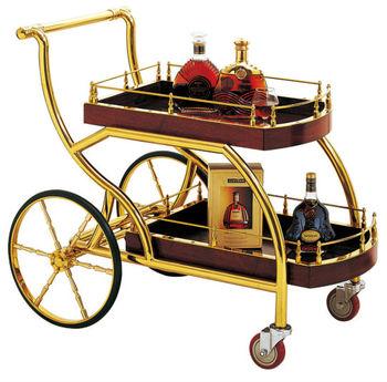 Chariot de liqueur pour h tel restaurant equipement de for Equipement de resto