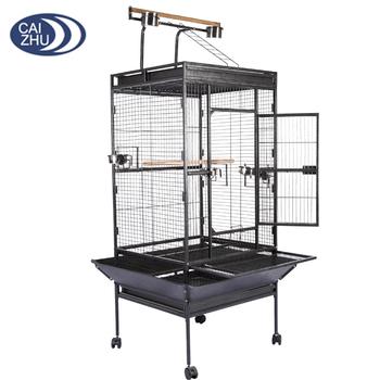 Mannufacturer China Outdoor Large Parrot Bird Cage For Sale Buy Parrot Bird Cage Large Parrot Cage Parrot Cage For Sale Product On Alibaba Com