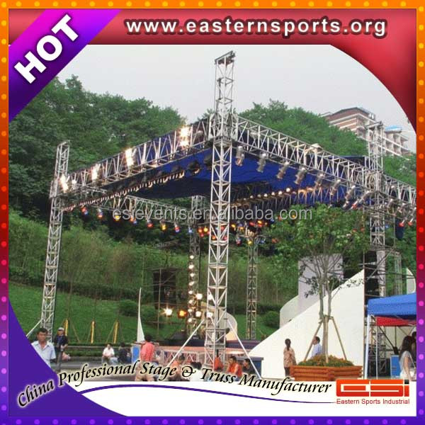 Esi New Fashionable Flat Truss 100*8*6m For Concert And Events ...