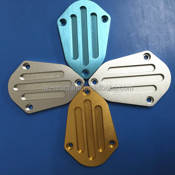 Custom cnc processing fabrication machining aluminum turning machined parts 7075 fabricated products