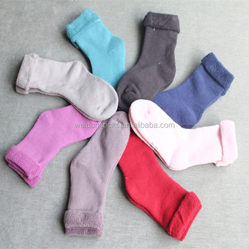 winter warm sock for baby from china socks factory