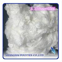 High quality raw white bamboo fiber