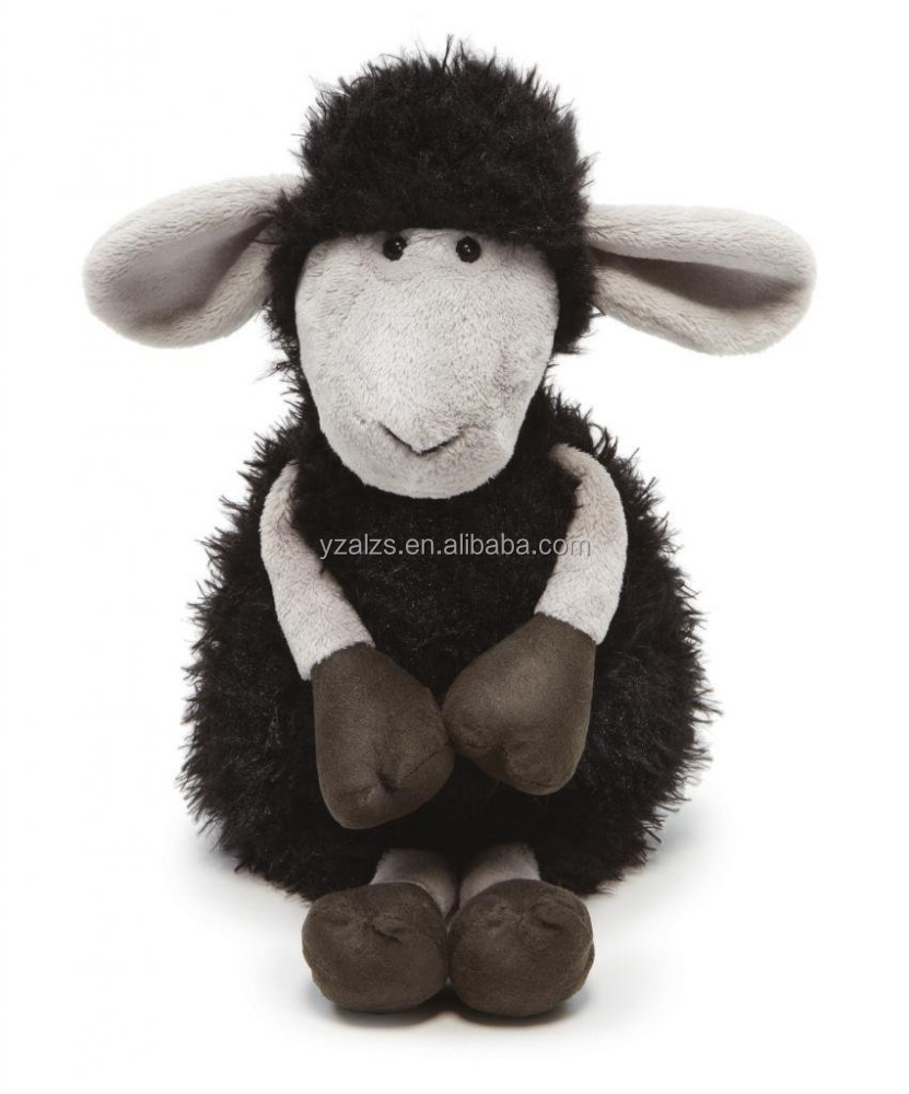 Cute Plush Black Sheep Stuffed Animal Toy Buy Plush Black Sheep