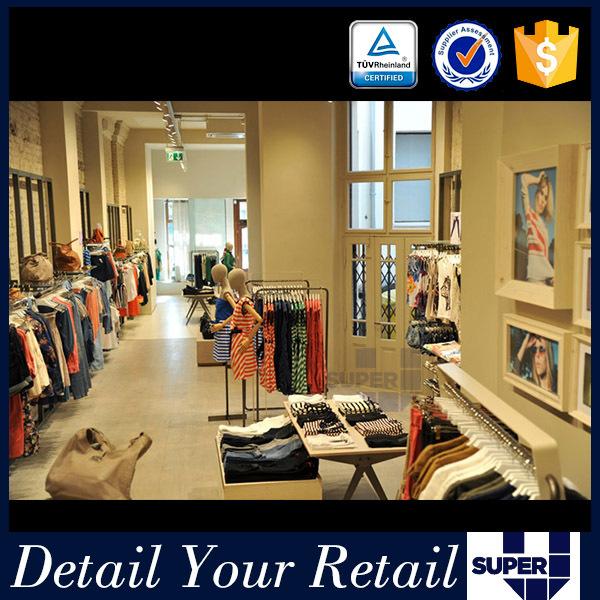 Oem/odm Factory Supply Ladies Garment Shoe Store Decoration Design ...