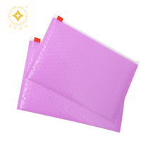 resealable holographic laser film red air slider zipper poly mailer pouch bag