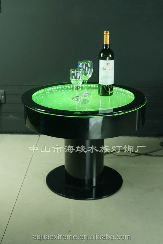 Bar Table ,Fantastic LED Moving Light And Water Bubble Moving Table