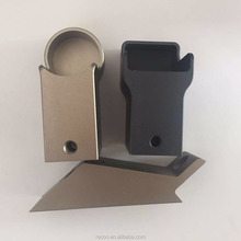 CNC machining billet aluminium stepper motor end mount plate