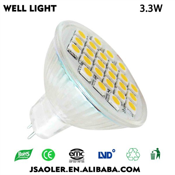 China Factory Directly Sell LED MR11 5050 3.3W Factory Price 2 Years Warranty