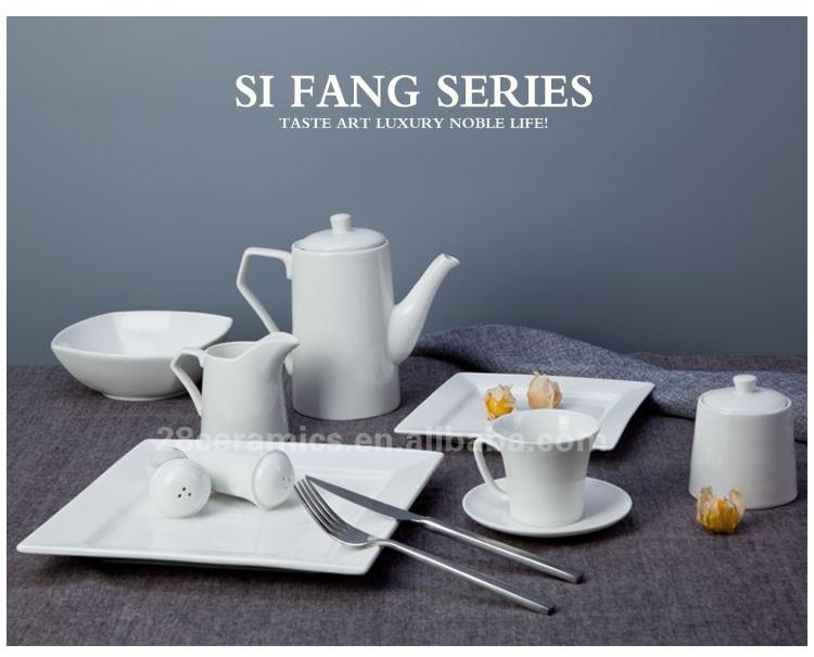 5 star hotel used unbreakable popular design ceramic square luxury dinner set & 5 Star Hotel Used Unbreakable Popular Design Ceramic Square Luxury ...