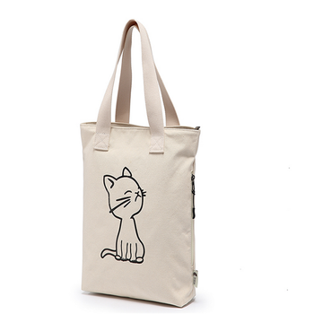 2017 Recycled canvas cotton bag promotional