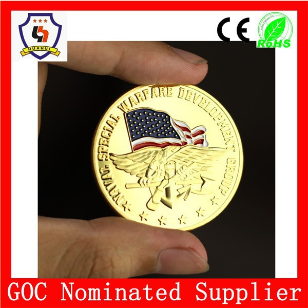 made in china top sale factory us eagle commemorable coins customized Coins(HH-souvenir coin-0012)