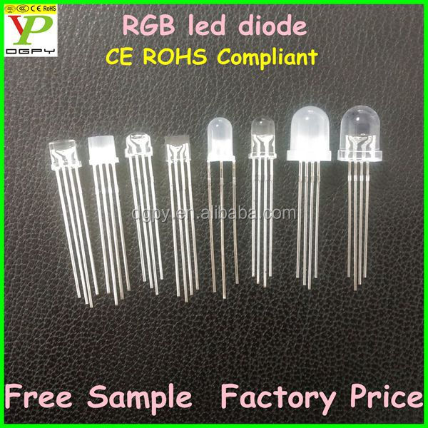 Super Bright Common Anode/cathode 4-pin 2-pin 5mm Rgb Led Price ...