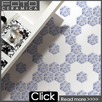 Azulejos tile hexagon ceramic floor tile designs