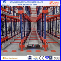 automatic radio shuttel rack and shelf warehouse system