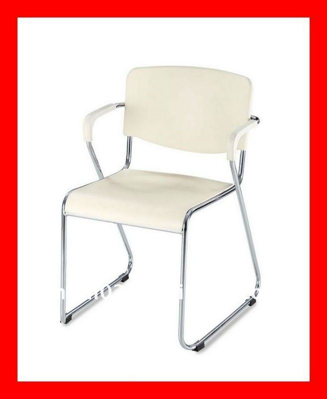 NEW stacking plastic company office waiting room chair LC002