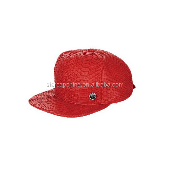 FASHION AND HIGH QUALITY BLANK LEATHER STRAP BACK HAT