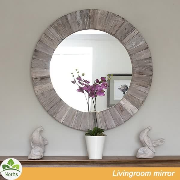 Distressed Wooden Mirror Source Quality Distressed Wooden