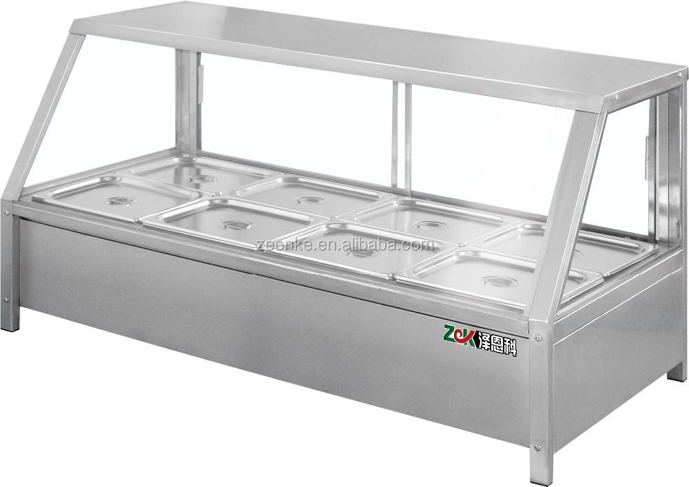 Restaurant Kitchen Equipment 8 Spot Bain Marie Machine
