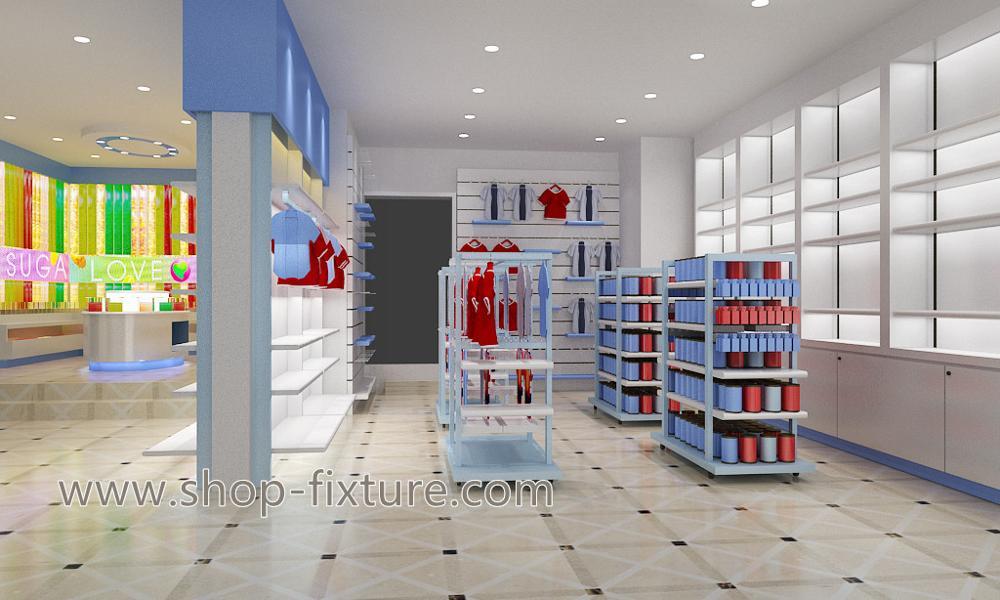 a8520f80a Moderno Design De Móveis Para Loja De Roupas