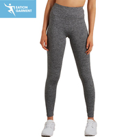 womens gym sports yoga capri high waist tight fit workout fitness leggings
