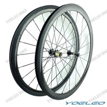 Hot Sale China 700C 23mm Wide Clincher 38mm Carbon Wheels No Brand
