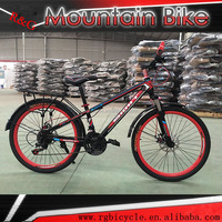 colorful bicycle for young man /students 24 size mountain bike