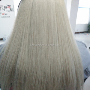 Alibaba wholesale 8-30 inch blonde hair extensions relaxed straight hair brazilian hair weft