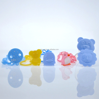 Wholesale High Quality BPA Free Animal Shape Baby Pacifier Chain Clip Holder/Soother Clip