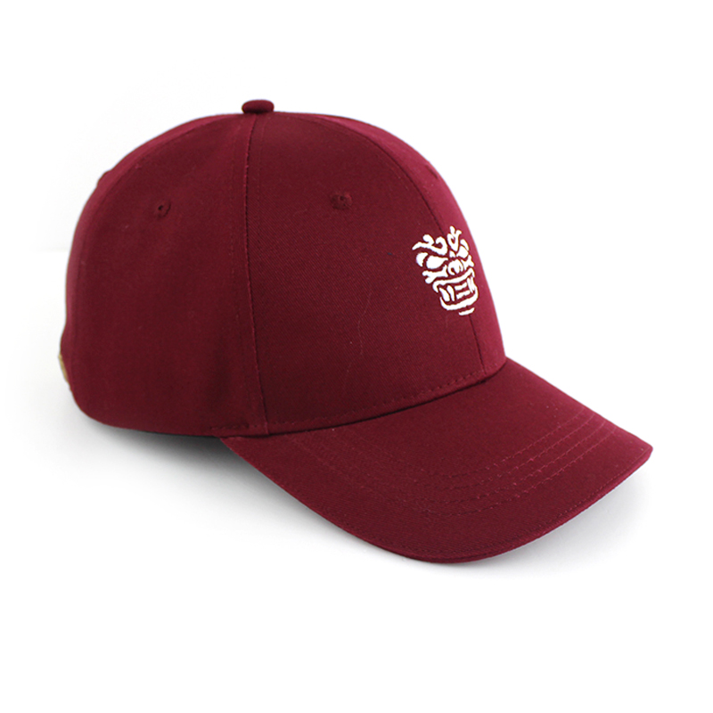 Brand quality mens 3d embroidery logo 6 panel baseball cap custom