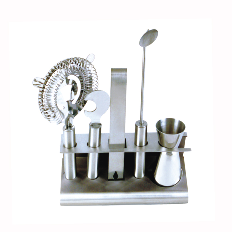 China Supplier Stainless Steel cocktail set bar <strong>wine</strong> accessory with muddler