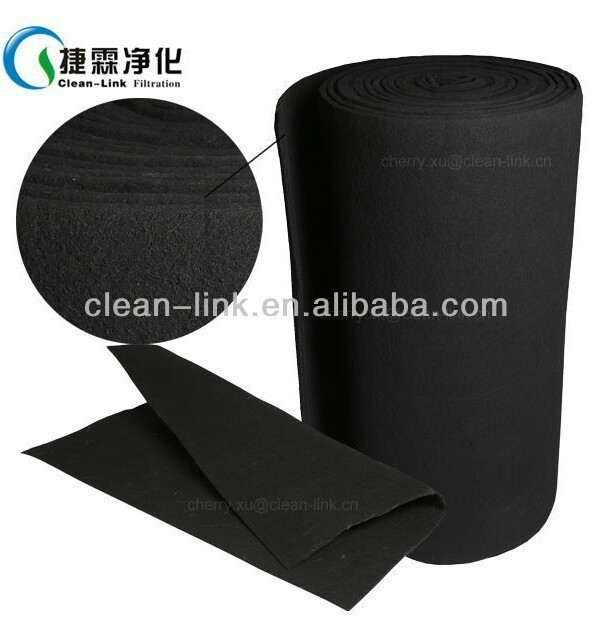 Spray Booth Carbon Filter,Activated Carbon Felt Fabric,Dust Filter ...
