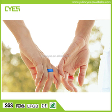 factory price Great gift stylish top quality fashion silicone wedding ring with free samples