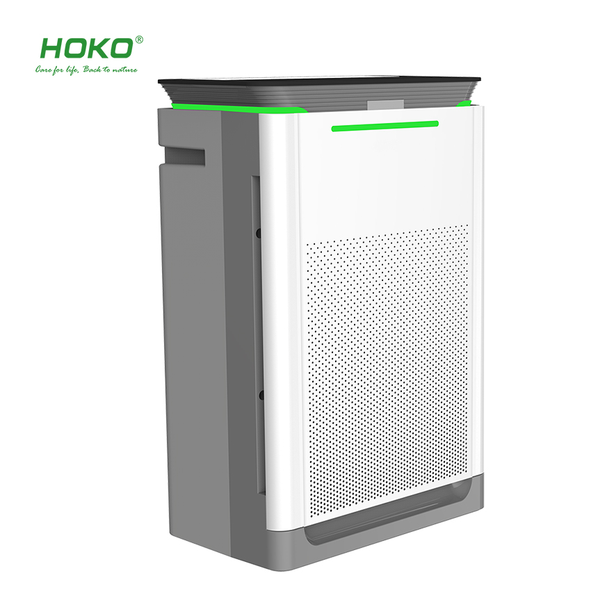 HOKO Smart home Air Purifier with True HEPA Filter intelligent air purifier for home or office use