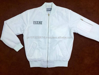 Custom White Satin Baseball Varsity Letterman Jacket Girls ...