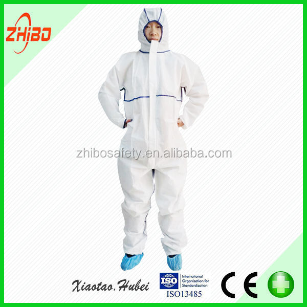 2015 new product Polyester / Nylon,PP,PP+PE,SMS,MICROPOROUS Material and OEM Service Supply Type uniform for workers overall