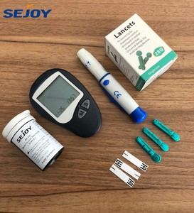 CE ISO15197 ISO13485 Electronic Blood Glucose Meter Glucometer Blood Glucose Monitor For Home Diabetes Test Strips