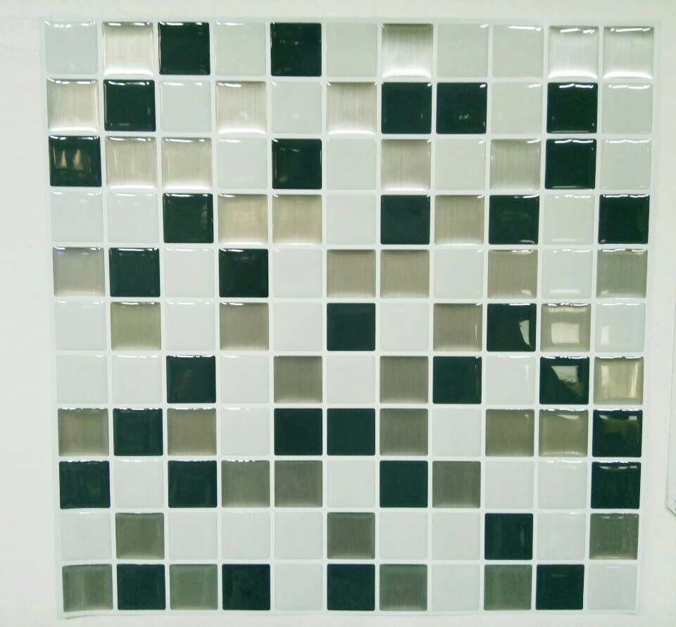 23 23 Cm Art 3d Moza Ek Waterdicht En Oilproof Tegels Stickers In