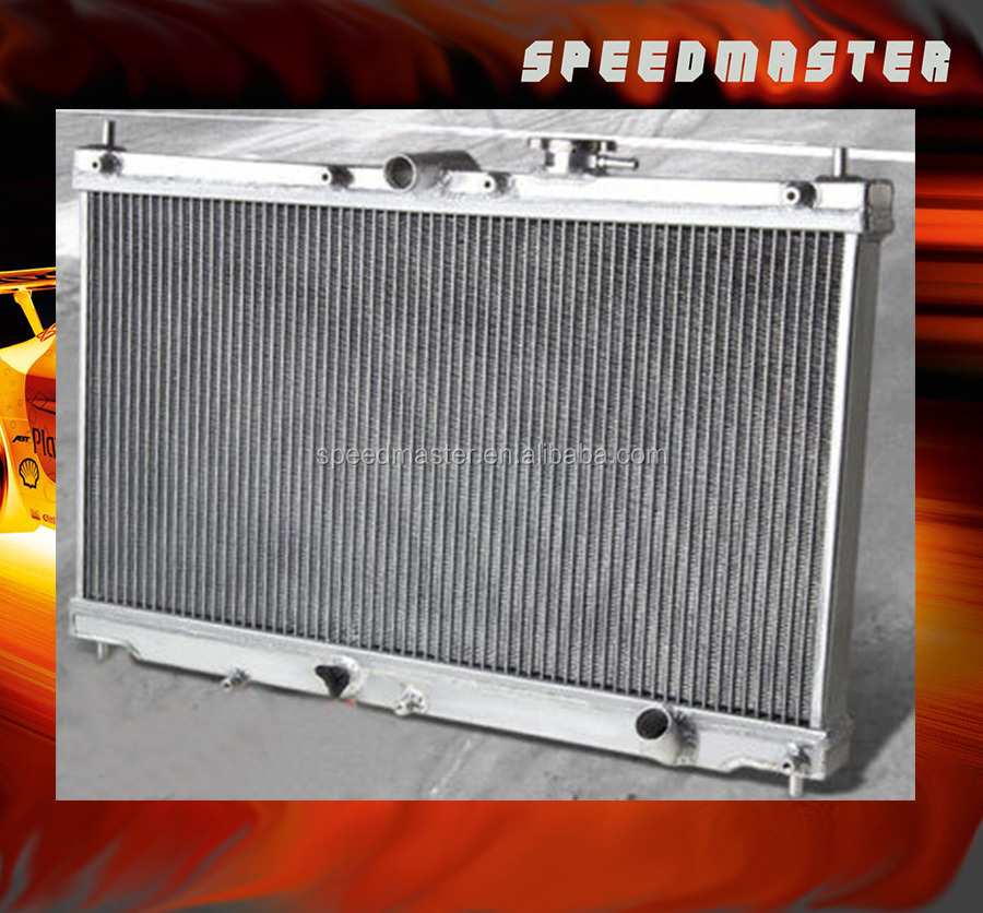 Best quality of all aluminum racing radiator 90-93 H ONDA F22A