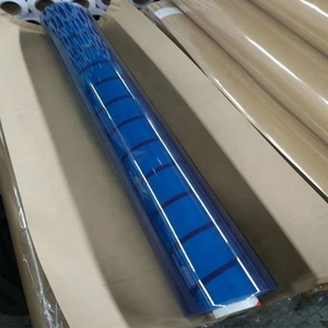 Super clear transparent soft glass pvc sheet for table cover in rolls