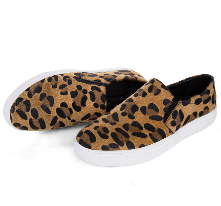 2015 new stylish breathable leopard shoes woman casual sport shoes platform wedge women sneakers zapatos mujer size 35-40