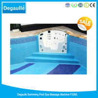 Degaulle wave machine FX260 water jet for swimming pool
