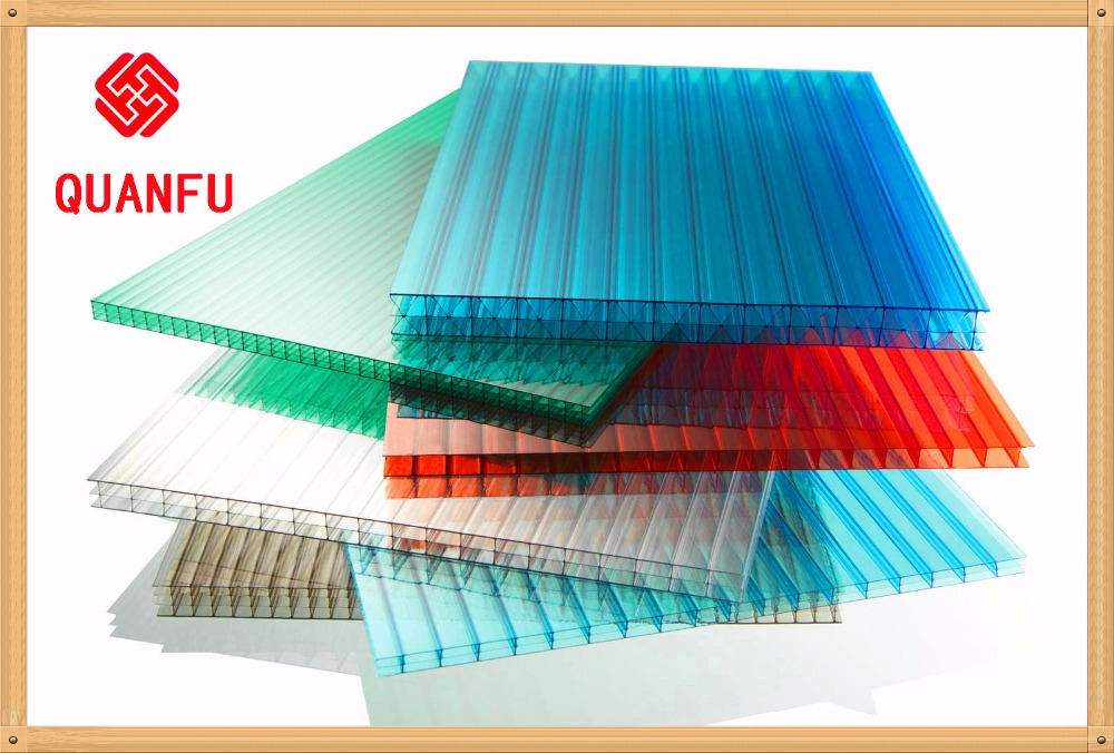 High impact stength 3mm 4mm 6mm 8mm 10mm 10 years warranty 2 Layers uv coat Polycarbonate Sheet /PC Sun Sheet /Plexglass