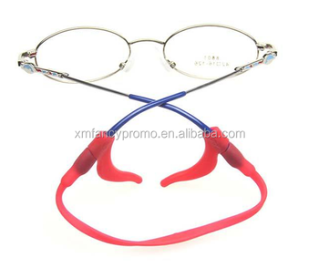 2c3e2a38a9 Silicone Kid Children s Eyewear Glasses Neck Retainers Eyeglass Strap Cord  Holder