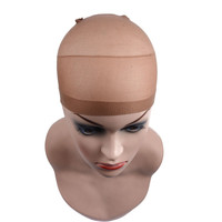 Stocking Wig Liner Cap Snood Nylon Stretch Mesh Wig Caps For Making Wigs