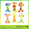 Top selling baby teether musical canimals design your own plush baby toy